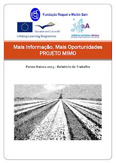 capa do relatório final de trabalho do projeto MIMO