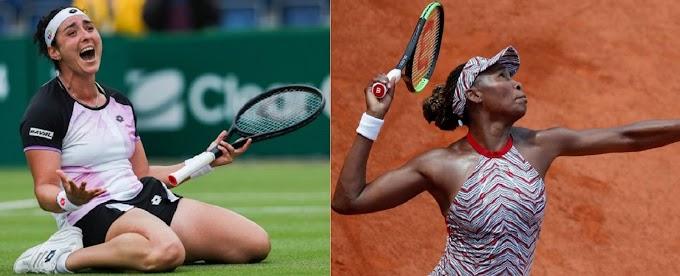 Watch Ons Jabeur VS Venus Williams Matche Live