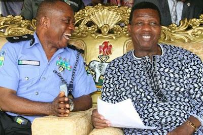 pastor adeboye anointing police
