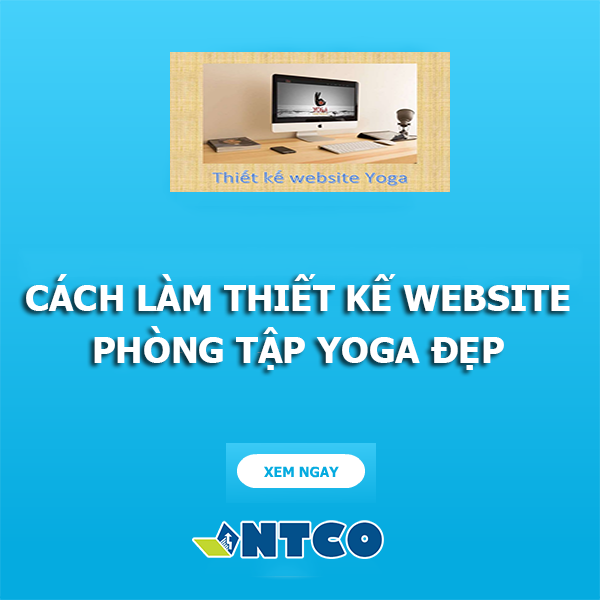 thiet ke website yoga