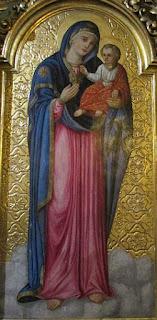 Matka Boska z Dzieciątkiem.