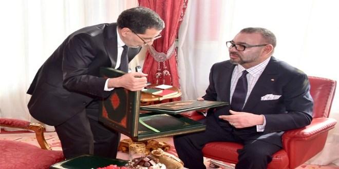Rabat: le roi Mohammed VI a reçu El Othmani