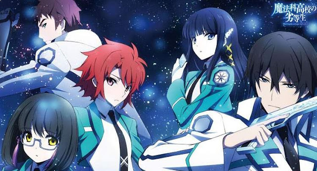 Mahouka Koukou no Rettousei - Anime Mirip Classroom of The Elite