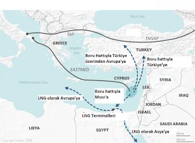 doğu akdeniz doğalgaz haritası
