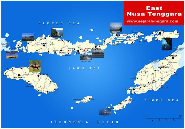 image: East Nusa Tenggara Map High Resolution
