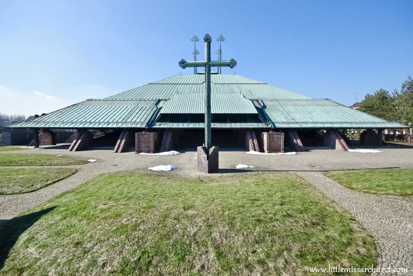 architekt Stanisław Niemczyk, kościół Tychy, polska architektura sakralna