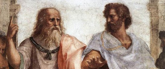 Socrates and Plato, from Raphael's School of Athens