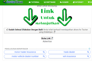 cara download di coretan uman