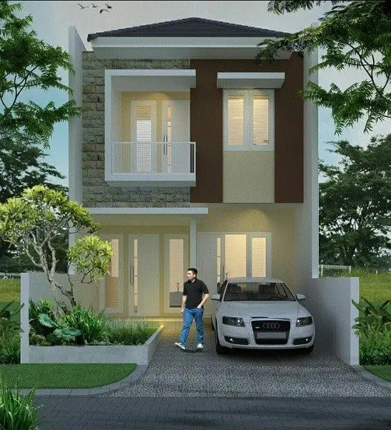 Rekomendasi desain rumah sederhana 6x12 - Tingkatan Rumah
