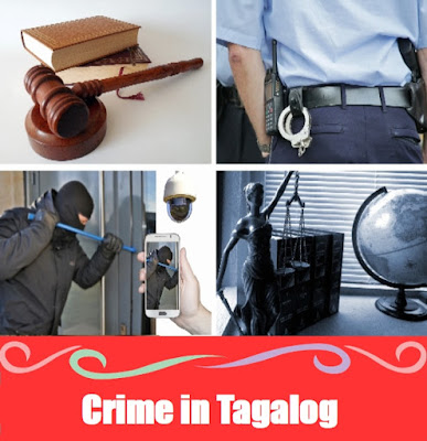 Crime Word List in Tagalog
