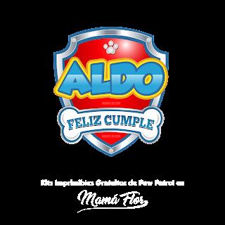 Logo de Paw Patrol: Aldo