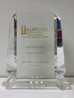 Anugerah KLIFF AIA Public Takaful 2015