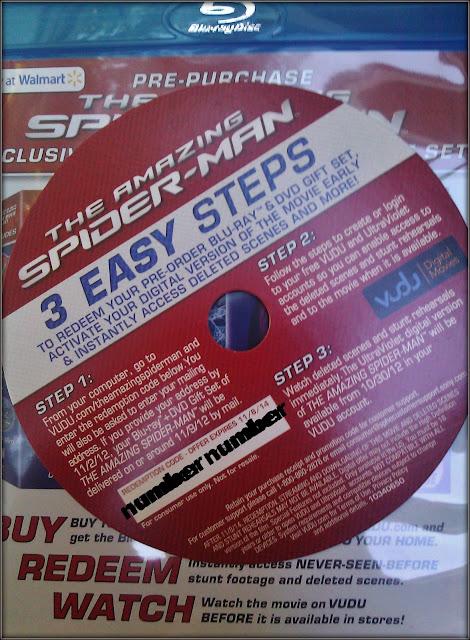 The Amazing Spiderman pre-purchase