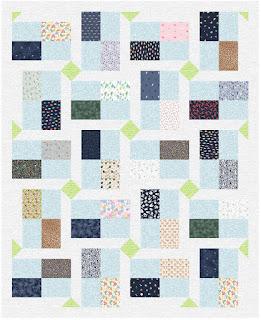 brickwork quilt by QuiltFabrication