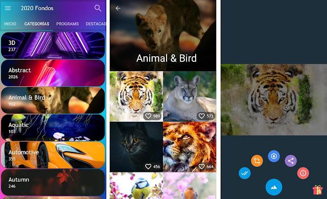 Las mejores apps de fondos de pantalla para Android