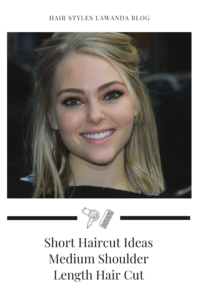 Short Haircut Ideas Medium Shoulder Length Straight