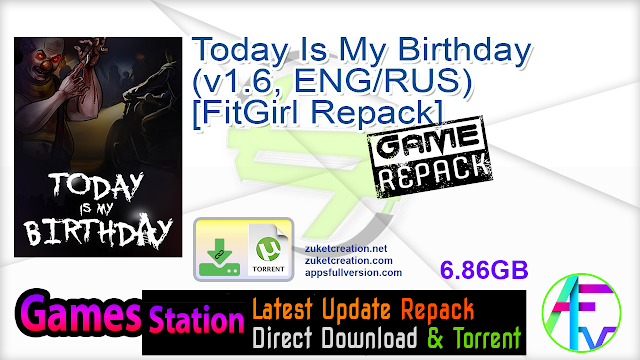 Today Is My Birthday (v1.6, ENG RUS) [FitGirl Repack]