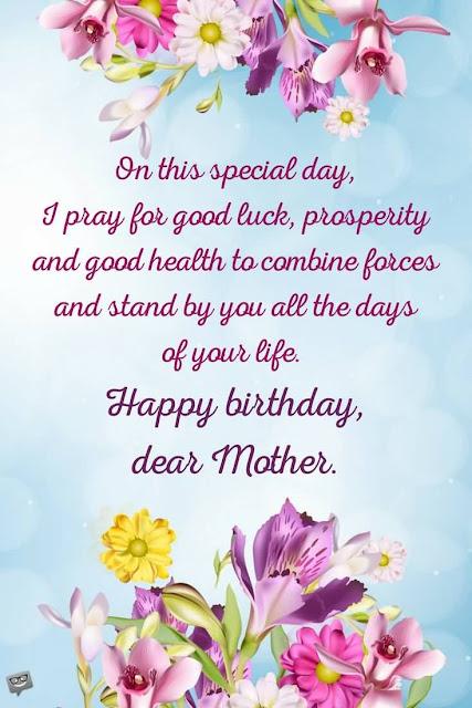 Happy Birthday, Wishes Mom Funny.