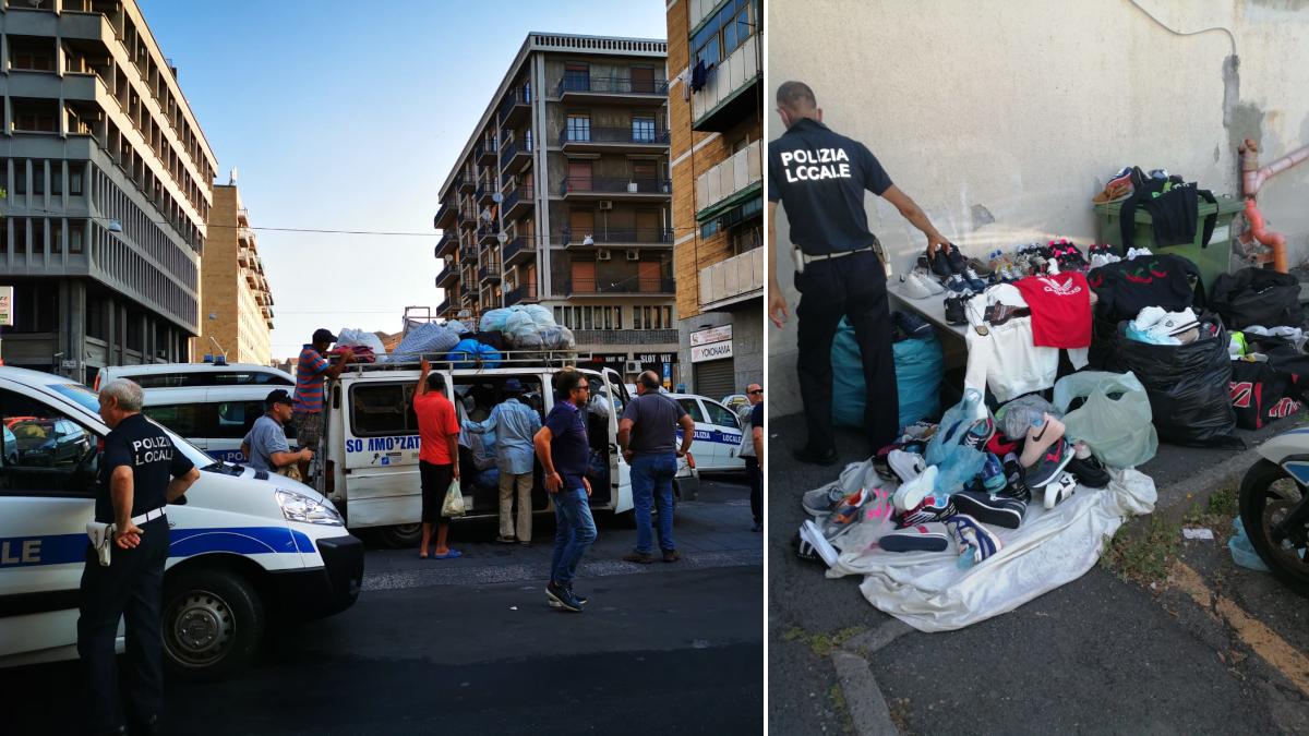 Polizia Municipale controlli anti Covid e contraffazione Fiera