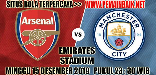 Prediksi Arsenal Vs Manchester City Pekan Ke 17