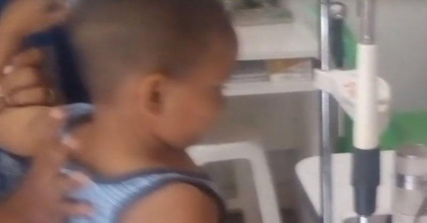 INDIGNACIÓN: Niño herido tras explotar un teléfono celular «LG» no recibe atención del seguro que le ofrecieron [VIDEO]