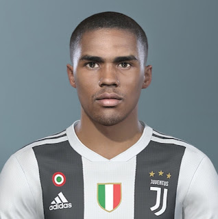 PES 2019 Faces Douglas Costa by KepaRik