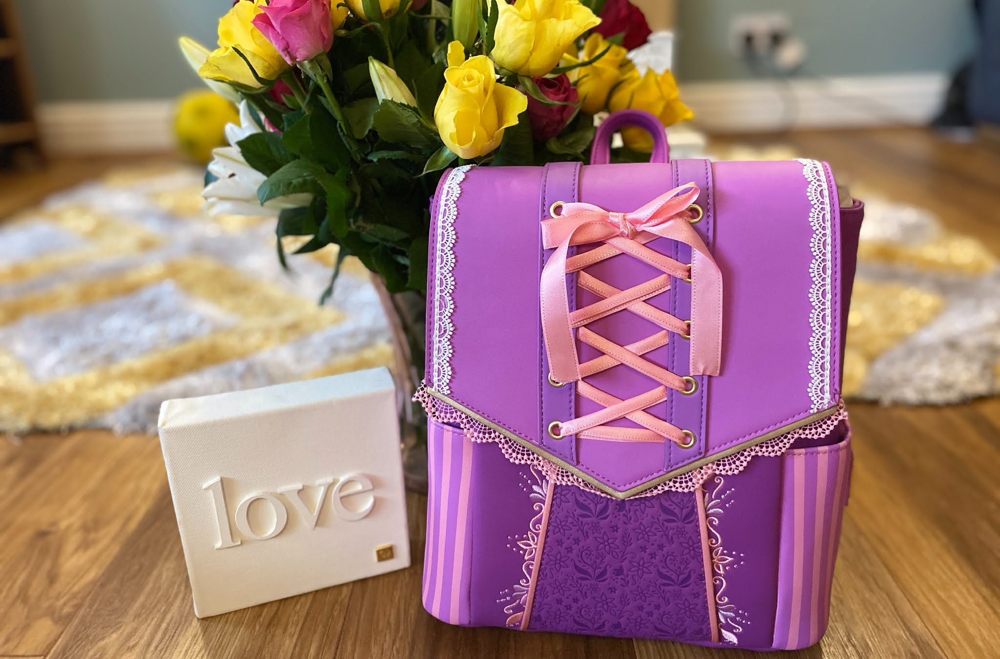 Loungefly Rapunzel Bag