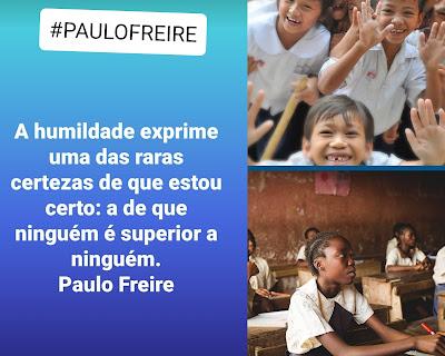 Paulo Freire para Instagram