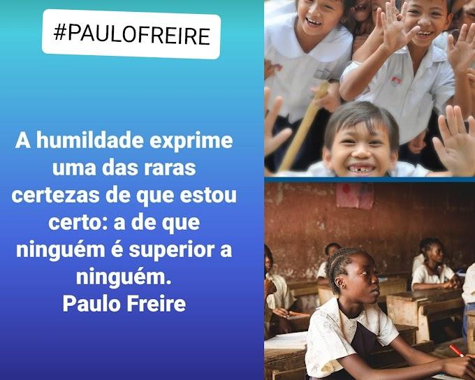 Frase Paulo Freire