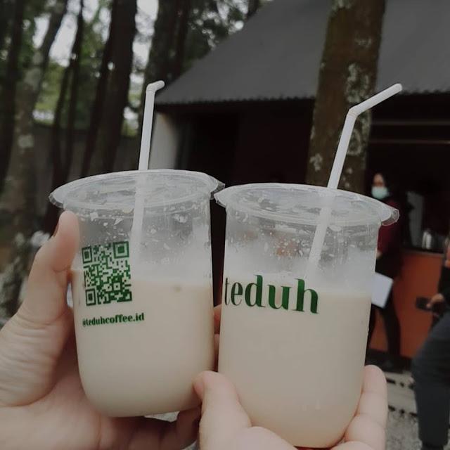 Menu di Teduh Coffee Kota Bandung