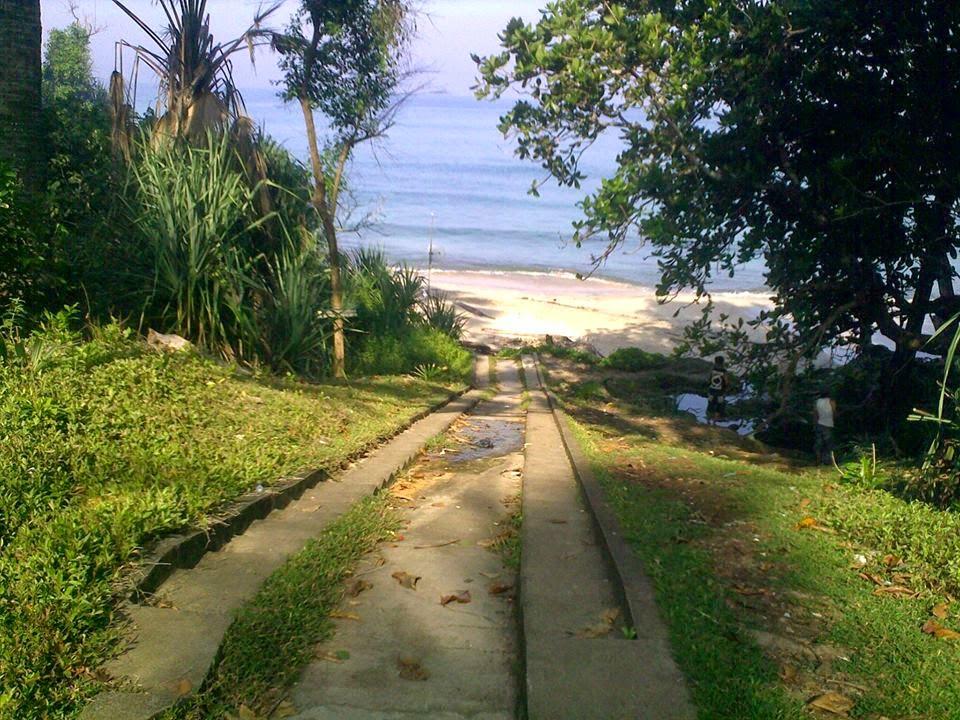 Pantai Pancur, Alas Purwo, Banyuwangi.