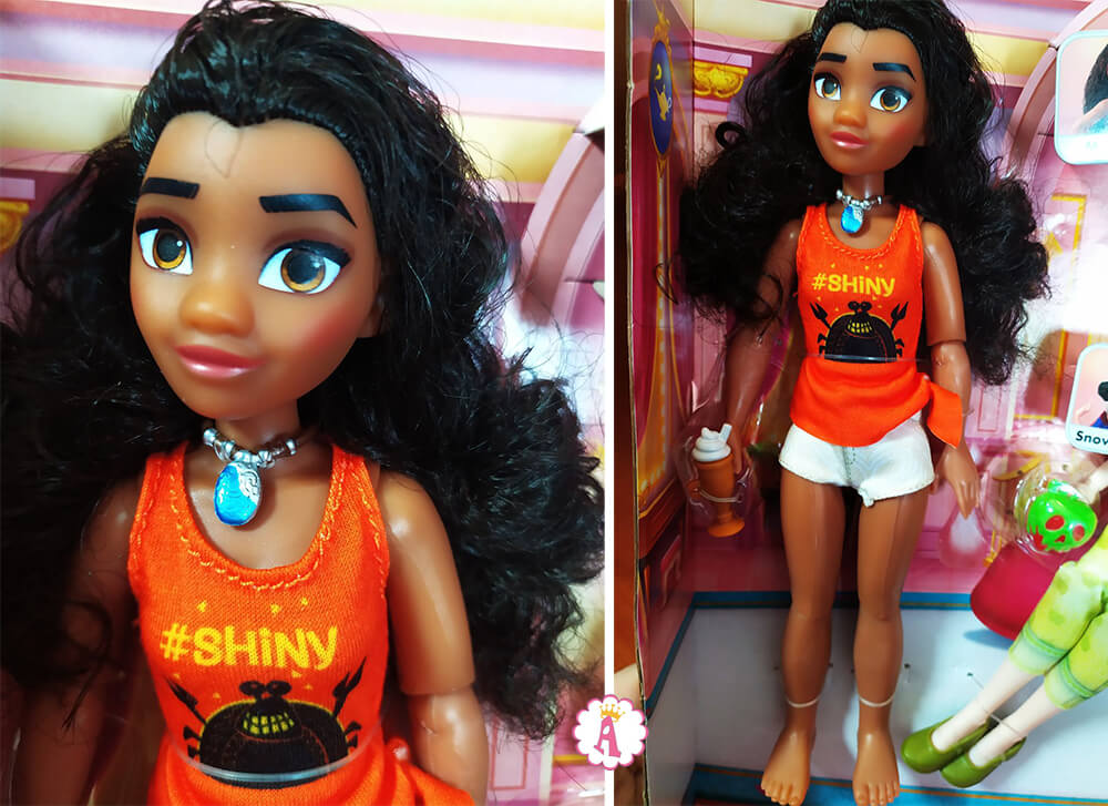 Кукла Моана диснеевская принцесса Ralph Breaks the Internet