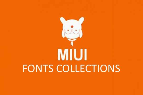 Kumpulan Font Keren untuk MIUI Support Unicode Mtz
