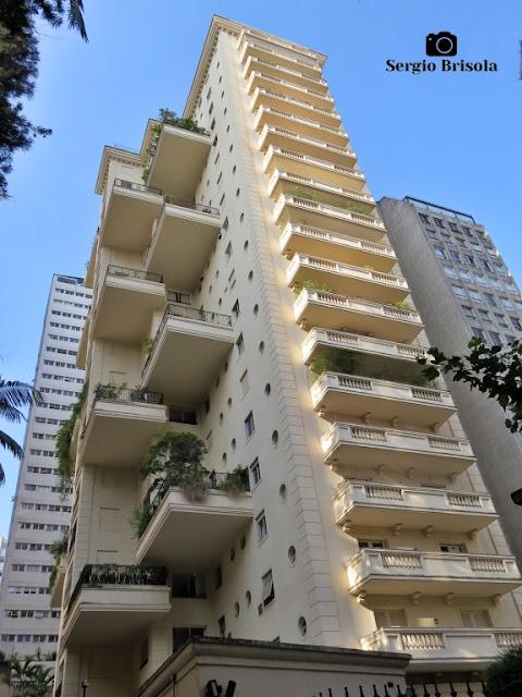 Vista ampla do Edifício Dom Luiz Orleans Bragança - Jardim Paulista - São Paulo