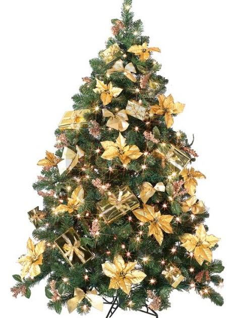 A mi manera c mo adornar y decorar el rbol de navidad - Como decorar un arbol de navidad ...