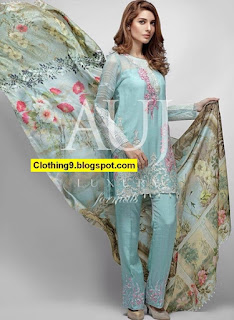 AUJ Luxury Formal Wear 2016-2017 for Eid-ul-Adha