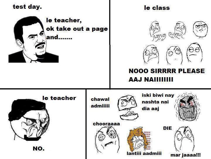 Paki Trollism: teacher praised by the students :D