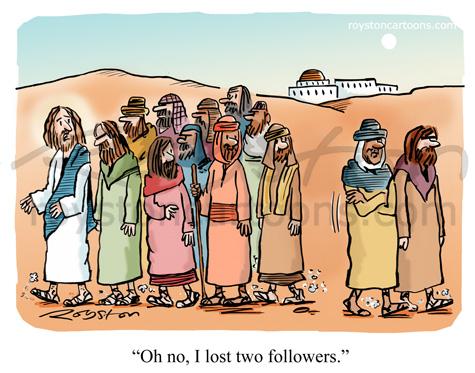jesus followers twitter social media joke