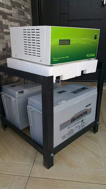 Buy 1.5KVA/24V AMARON TRIBAL inverter with 2 Pcs. Of any rating (100Ah and above) get N10,000 discount. Offer valid till July 31st. SMS: 08185000488 to order now. www.naijawholesale.com