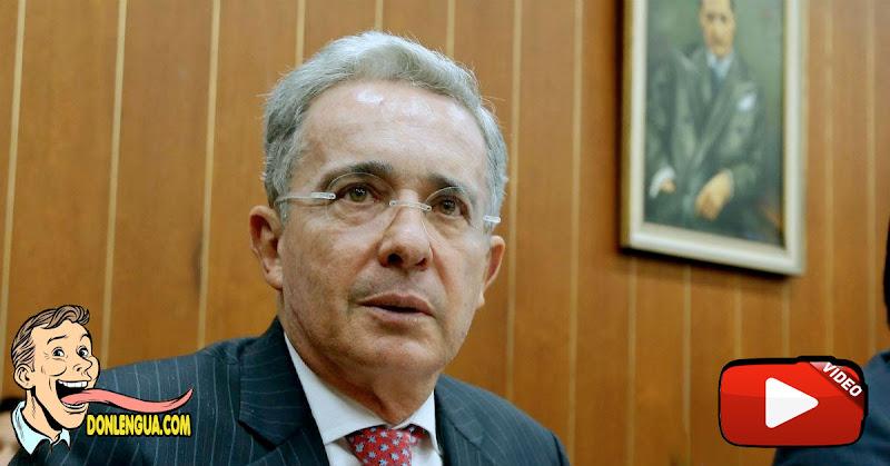Ex-Presidente colombiano Álvaro Uribe dio positivo para el Virus