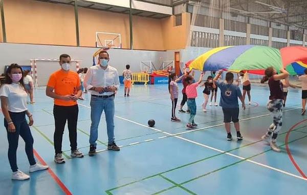 El Ayuntamiento de Breña Alta reedita el Campus  de Verano 'Meraki', un programa que combina habilidades sociales y valores deportivos