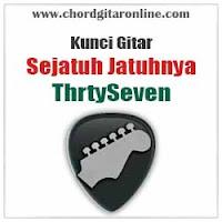 Chord Kunci Gitar ThrtySeven Sejatuh Jatuhnya