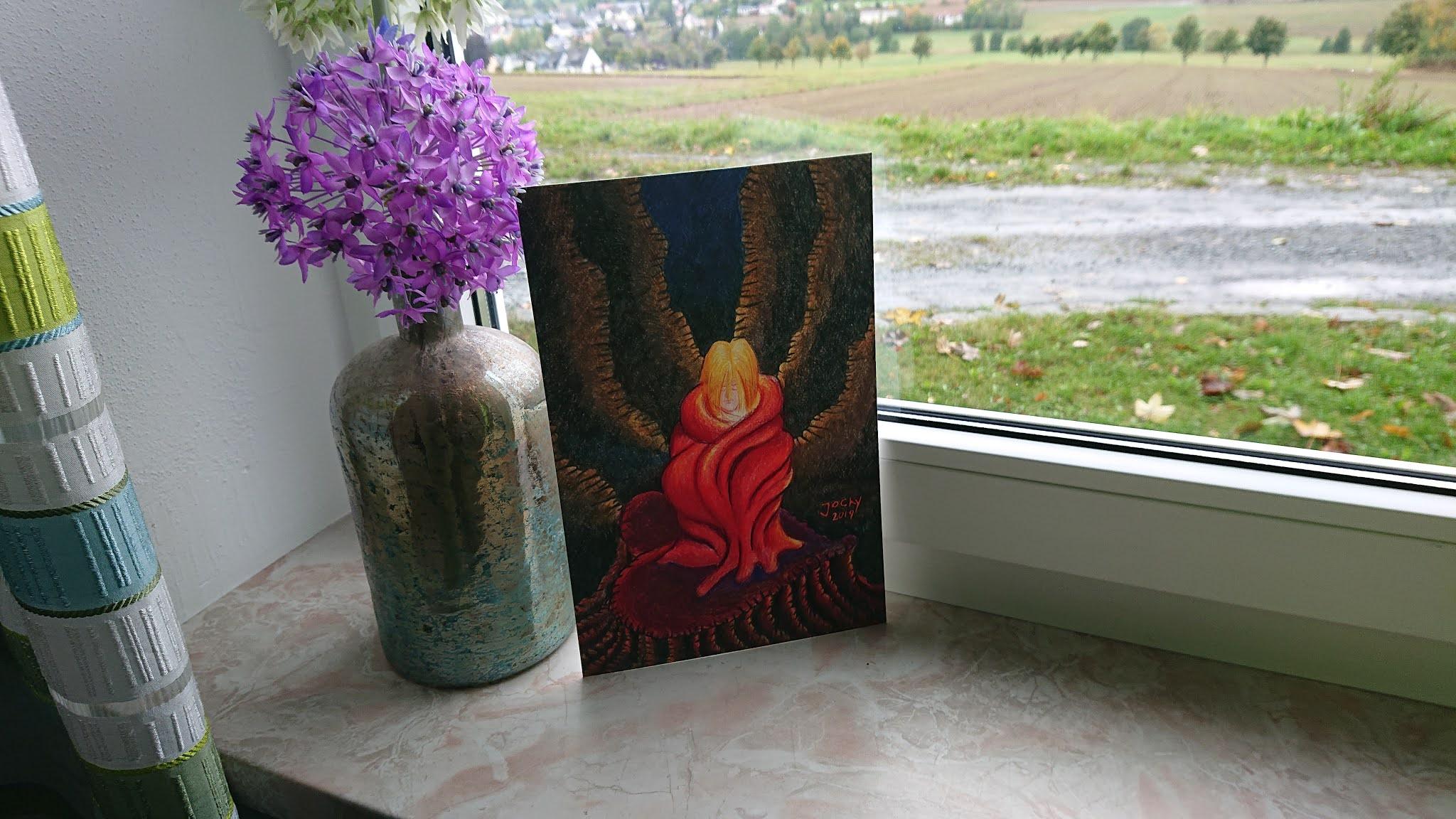Kunstdruck: Umhüllt von der Liebe Gottes (Foto)