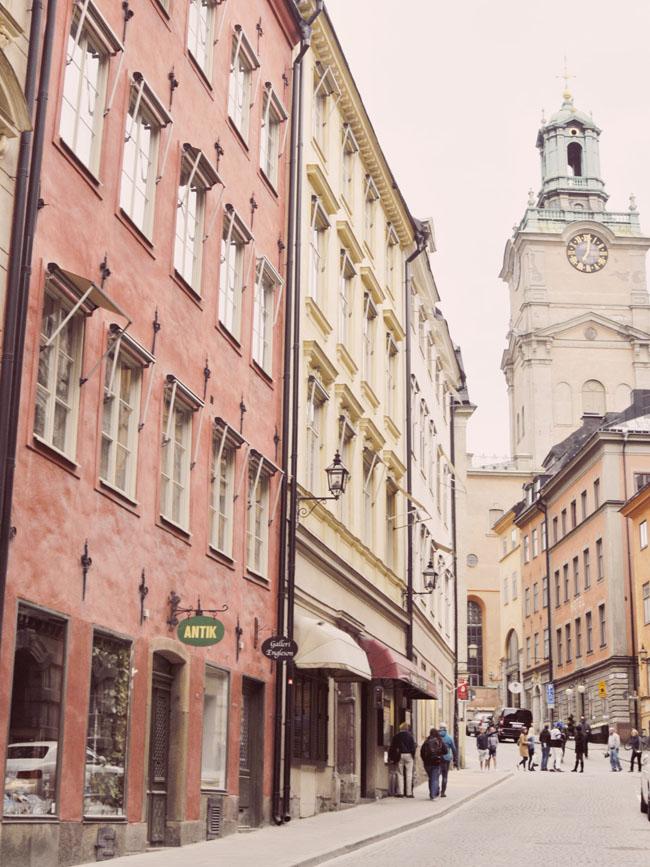 Best Stockholm Instagram Spots - Gamla Stan street