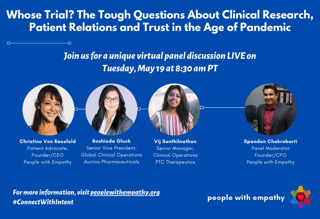 Whose Trial? Clinical Research, Patient Relations, & Trust: A Virtual Panel