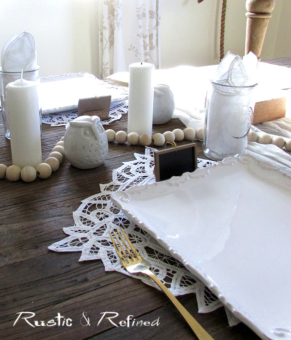 Rustic Tablescape for Summer