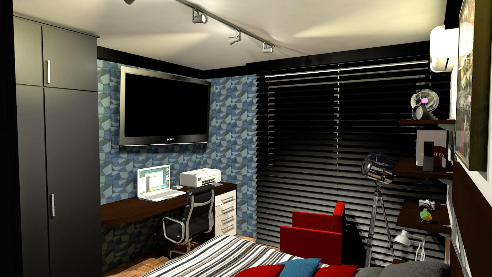 Bedroom Paint Bst Projeto E Design Quarto Masculino