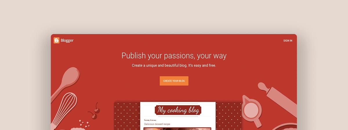 visit blogger website