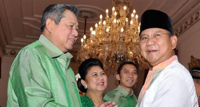 Besok Pagi SBY Bertamu Ke Kediaman Prabowo