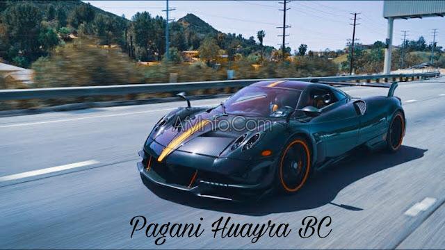 Gambar Mobil Pagani Huayra BC